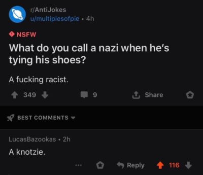 I did Nazi that coming
