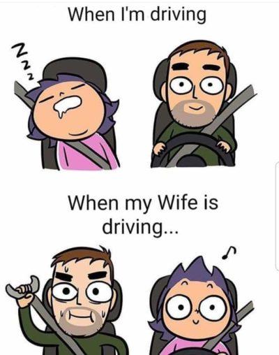 Wife No Car Good