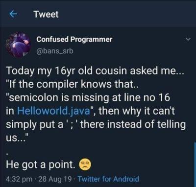 Stupid Compiler