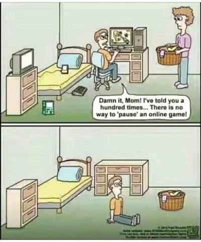 Games bad