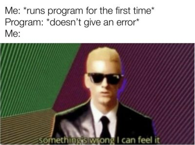 *checks code anyway*