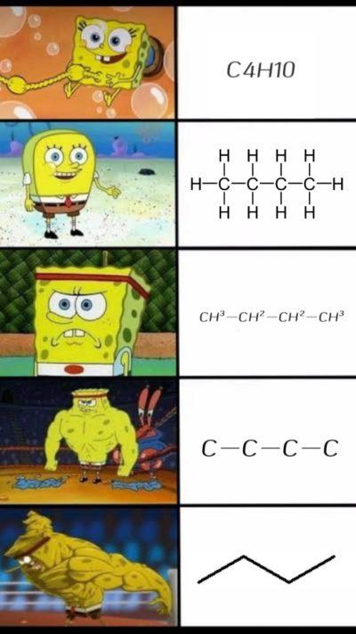Chemistry class be like