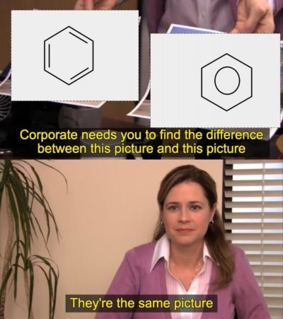 Benzene rings be like