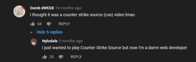 YouTube Commenter Becomes Professional Counter-Strike Player