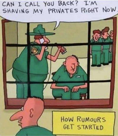 Haha genitalia humour