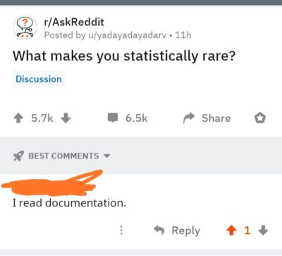 Too much rare!