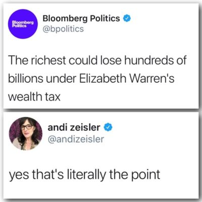 OH NO NOT THE POOR BILLIONAIRES!