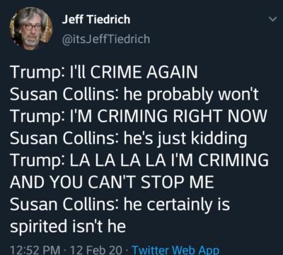 I'M CRIMING!