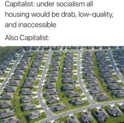 Capitalist housing