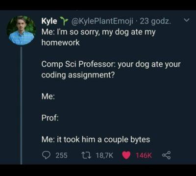 Intelligent dog