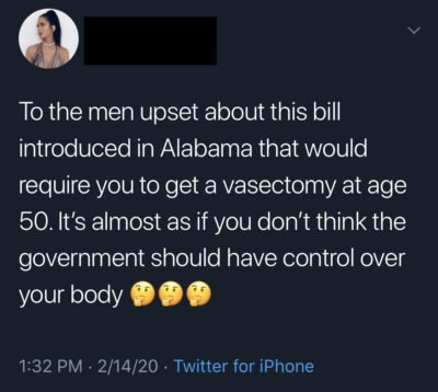 Oh now they wanna be pro choice