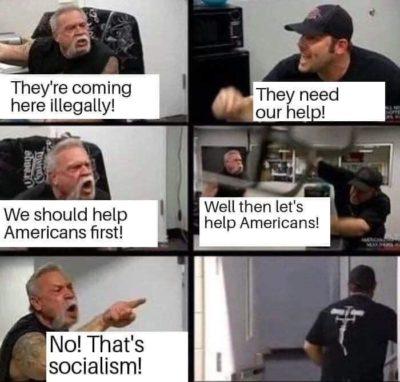 No, that's Socialism