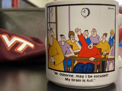 This mug of coffee at Joe's