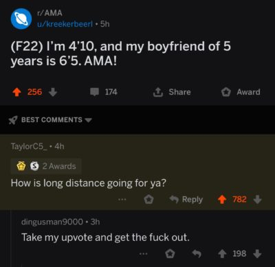 Taller the guy, longer the relationship