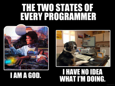 The two states of every programmer