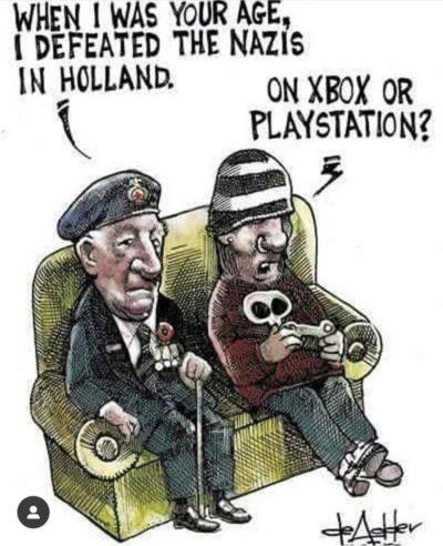 Video game bad war good