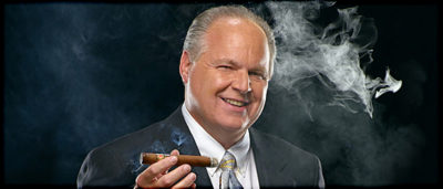 Trump supporter Rush Limbaugh denied health risks of smoking for decades, siding with Big Tobacco, before his advanced lung cancer diagnosis today