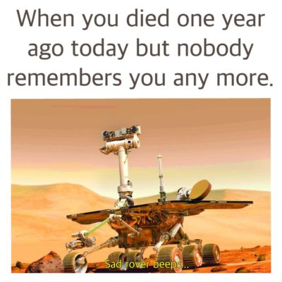 Never forget oppy….