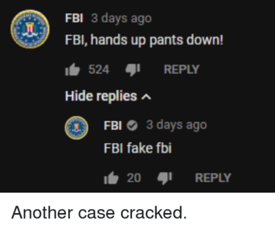Another case cracked