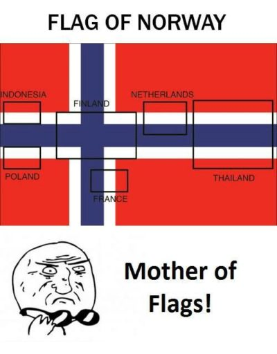 Come on, why you gotta do this to my nation's flag?