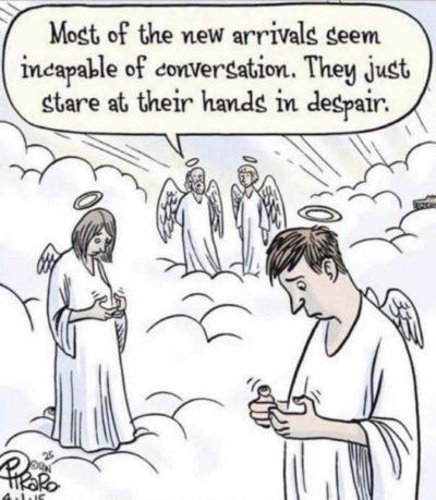 Phones bad