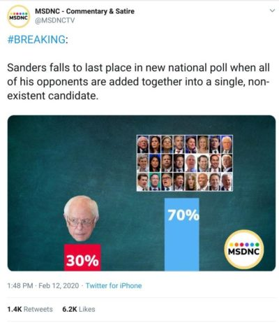 It's over for Sanders
