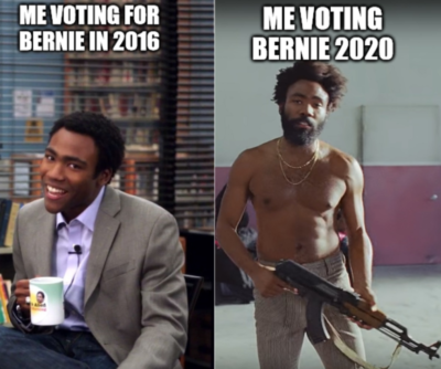 Voting in 2016 vs. voting in 2020