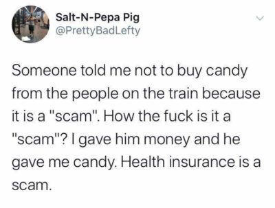 A scam is a scam