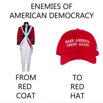 Frem Red Coat to Red Hat