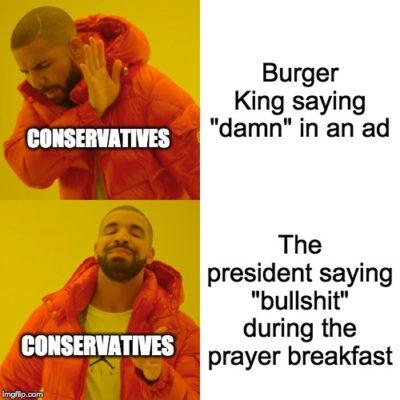Hypocrites gonna hypocrite ya know?
