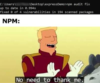 Thanks NPM