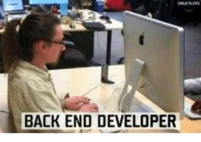 Unexperienced Back-end developer!