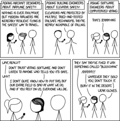 Timeless xkcd in honor of the Iowa Caucuses