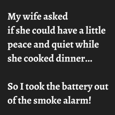 Wife cook bad