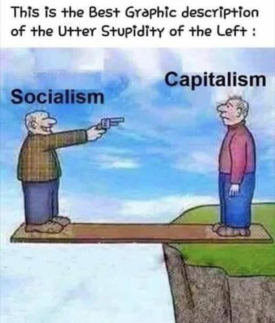 Everyone on the left is a socialist