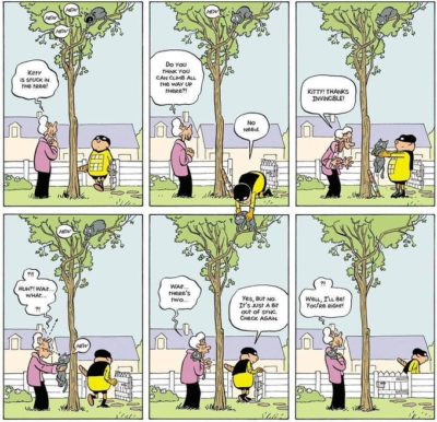 Eventual consistency in comicstrip form