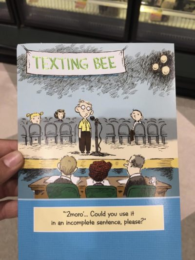 """Texting Bee"""