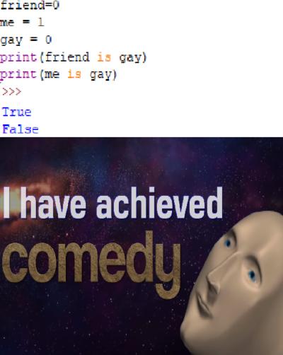 Begginer friendly joke
