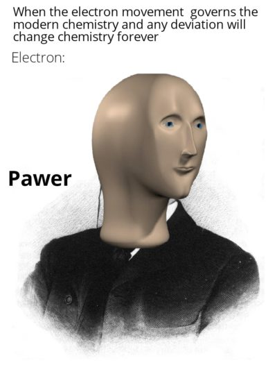 Even an electron is more powerful than me