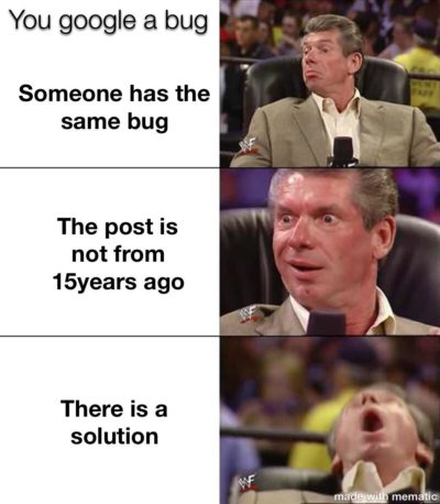 Not a programmer but made this meme