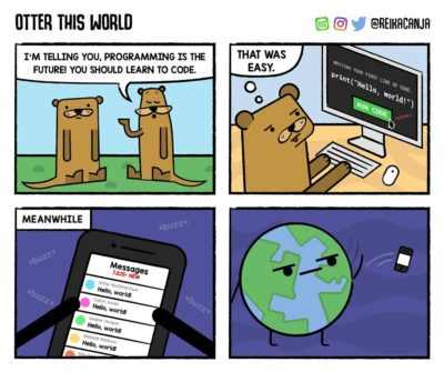 Reason why world not reply to hello!!