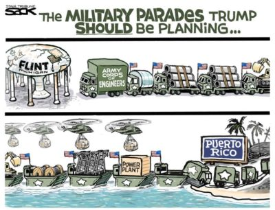 The military parades Trump SHOULD be planning…