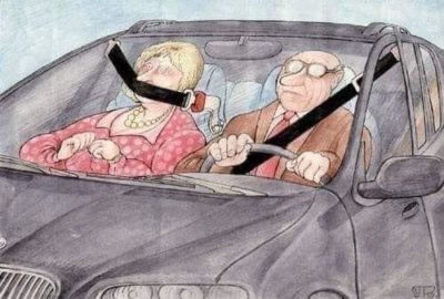 How to avoid accidents. Wife = bad
