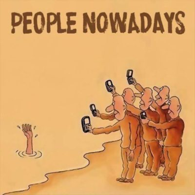 """People nowadays""…"