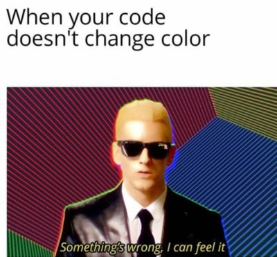 All programmers can surely relate to this