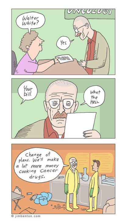 If Breaking Bad Were Real
