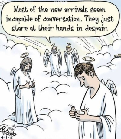 God damm cell phones