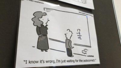 My teacher's a fucking boomer