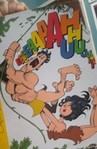 My dad has given me an 100% boomer humor comic book ( that's the cover art) Book:Os Zerous .Author: Ziraldo