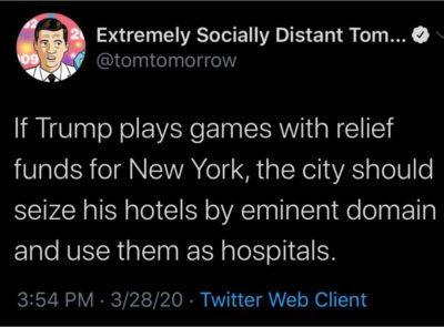 I hope Gov. Cuomo and Mayor DeBlasio do this.